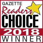 Gazette Readers Choice Winner 2018