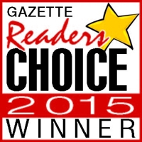 gazette readers choice 2015 winner